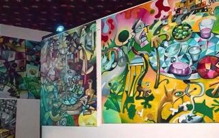 Cartel Exposición de Javier Blanco Artista Contemporáneo España