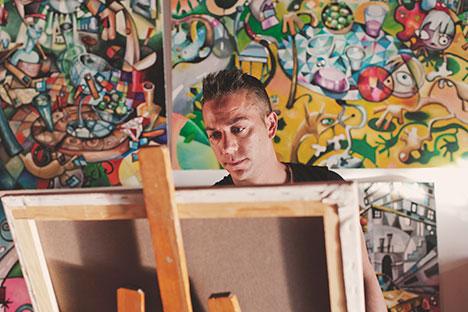 Javier Blanco Artista Contemporáneo España