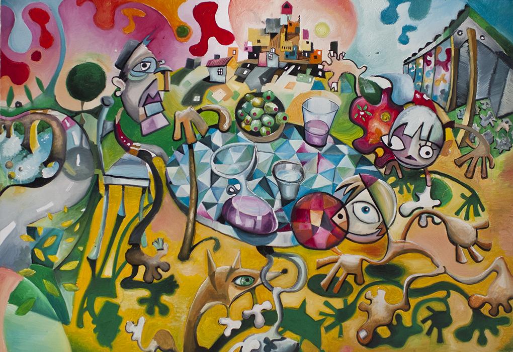 El abuelo de Javier Blanco Artista Contemporáneo España