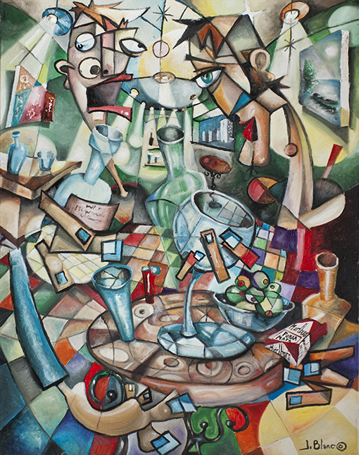 Los borrachos de Javier Blanco Artista Contemporaneo, España