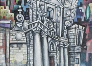 La Catedral de Valladolid de Javier Blanco Artista Contemporáneo España