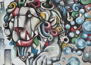 La Cibeles de Javier Blanco Artista Contemporáneo España