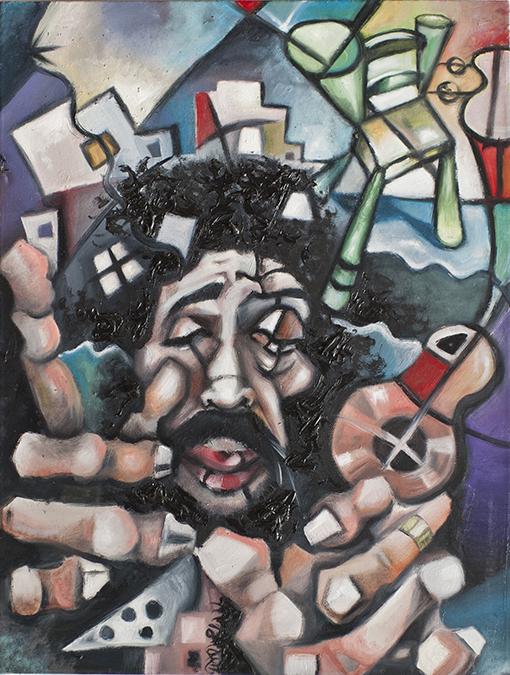 Camarón de Javier Blanco Artista Contemporáneo España
