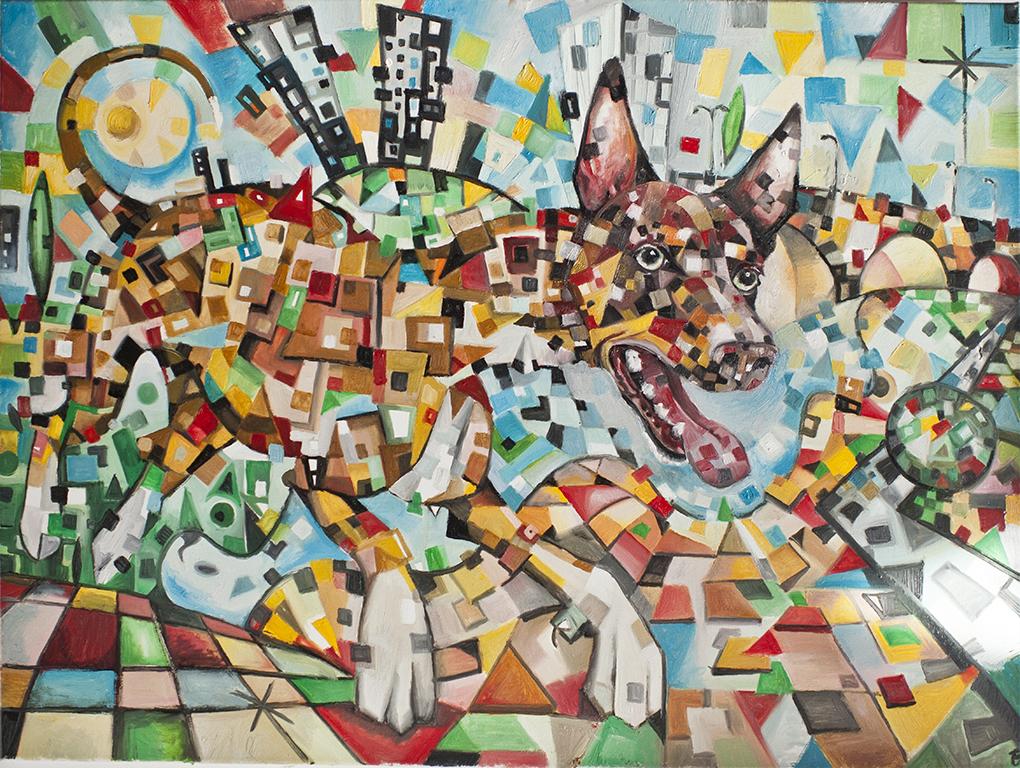 Kora de Javier Blanco Artista Contemporáneo España