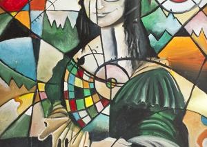 La Mona se viste de seda de Javier Blanco Artista Contemporáneo España