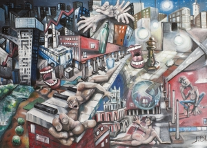 Crisis obra de Javier Blanco ARtista Contemporáneo España