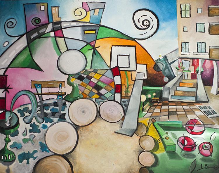 'La Parcela' de Javier Blanco Artista Contemporáneo España