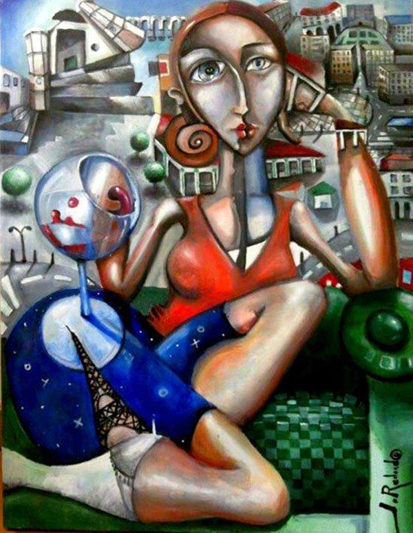 'El Beso' de Javier Blanco Artista Contemporáneo España