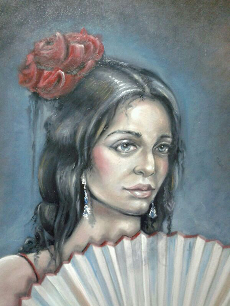 'La Española' de Javier Blanco Artista Contemporáneo Valladolid, España