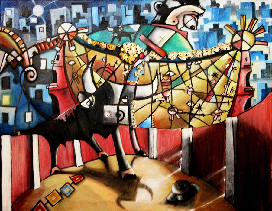 'Torero' de Javier Blanco. Artista Contemporáneo España